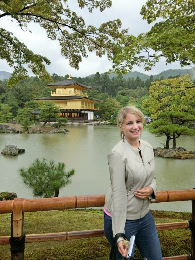 I'm at th Golden Pavilion.