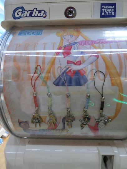 Sailor Moon Capsule Keychanins